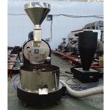 200kg par brûleur de café industriel de machine de brûleur de café en lots