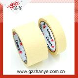 Color blanco y cinta de enmascarar de papel crepé