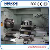 Máquina de giro do CNC do metal do torno do CNC do baixo preço com alimentador Ck6136A-2 da barra