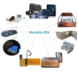 Monalisa 특별한 호화스러운 수력 전기 Jacuzzi 옥외 편리한 온천장 온수 욕조 (M-3377)