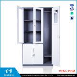 Henan Mingxiu bord étroit porte en verre Classeur métallique / Steel armoire de fichiers