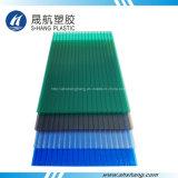 Vier het Kleuren Berijpte Blad van het Dakwerk van het Polycarbonaat (SH17-HTF41)