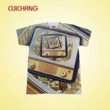 Machine d'impression de sublimation de T-shirt, vente en gros de T-shirt de sublimation