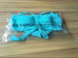 Сексуальный Flounce двухкусочное Бикини вязания крючком (QG-623W)