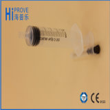 CE/ISO/FDA Approved Hypodermic Disposable Syringe mit Needle