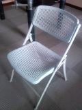Public silla plegable silla plegable de metal/