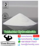 Chlorhydrate de yohimbine/HCL CAS de yohimbine : 65-19-0 poudre crue de drogue de sexe