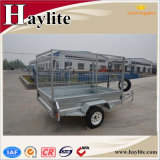 Tipping Tilting Dump Farm Box Trailer