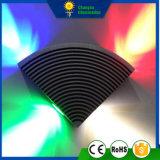 4Wファン整形LED壁ライト