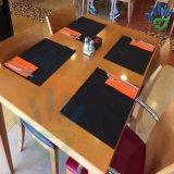 Fatto nella tovaglia non tessuta quadrata su ordinazione del ristorante del tessuto di prezzi poco costosi della fabbrica della Cina