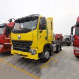 半Sinotruk HOWO A7 6X4 480HPの長い手段のトレーラーのヘッドトラック