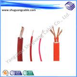 Resistente de alta temperatura/flama - borracha do retardador/silicone/cabo de controle