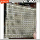 die 3-19mm Sicherheits-Aufbau-Glas, Draht-Glas, lamellierendes Glas, das flache Muster/verbog Toughed Sicherheitsglas für Hotel-Wand/Fußboden/Partition mit SGCC/Ce&CCC&ISO