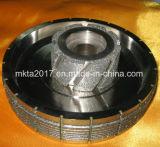 極度の研摩剤のステップダイヤモンドCBNの粉砕車輪