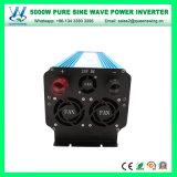 DC12V AC110/120V 60 Hz 5000W Onde sinusoïdale pure onduleur (QW-P5000)