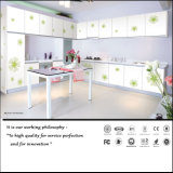 2015普及した花デザイン食器棚(Fy0578)