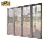 二重ガラスアルミニウムガラスの折りたたみかBifoldドアまたはBifoldingのドア