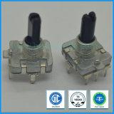 шифратор вала металла DC 5V 16mm дифференциальный роторный, горизонтальные штыри, для игроков DVD, личное аудиоий