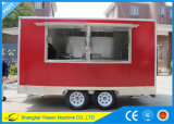 Еда Van Ys-Fv390b самая лучшая продавая Foodtruck передвижная