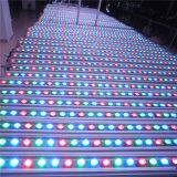 Luz movente do estágio dos bulbos da lavagem da parede do diodo emissor de luz da cabeça 24/36PCS da barra da lavagem do diodo emissor de luz