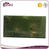 Бумажник портмона женщин способа зеленого цвета Fani универсальный для повелительниц