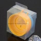 Рр матового чашу крышкой коробки в блистерной упаковке с фиксирующими