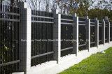 Haohan 간단한 까만 산업 주거 안전 정원에 의하여 직류 전기를 통하는 강철 담 23