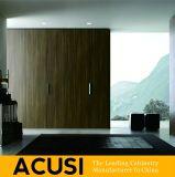 De in het groot Moderne Eenvoudige Stijl Scharnierende Garderobe van de Slaapkamer van de Deur (ACS3-H26)