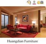China-Lieferant passte die vollständigen eingestellten Hotelzimmer-Möbel an (HD011)