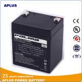 Batteries rechargeables d'acide de plomb exemptes d'entretien 12V 5ah de longue Individu-Vie
