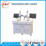 Mopa de alta precisión Ipg 20W / 30W No Metálica láser de fibra Máquina de la marca para el ABS, PES, PVC