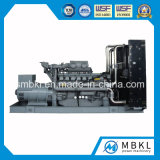 Gerador de diesel de 900kw / 1120kVA definido com o tipo Open Open do Reino Unido / Índia Perkins