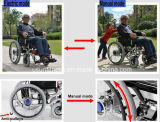 Многофункциональная кресло-коляска может складно