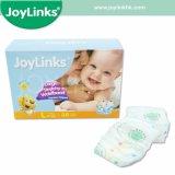新しい使用できる極度の柔らかく使い捨て可能な赤ん坊のおむつ(JoyLinks)