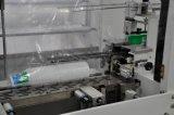 Impressão automática a máquina de embalagem no recipiente de plástico contentor