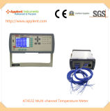 Temperatura do indicador 32 do medidor da temperatura simultaneamente (AT4532)