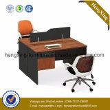 La Chine a personnalisé les meubles de bureau en bois de poste de travail de forces de défense principale (HX-NCD066A)