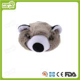 Juguete encantador de la felpa del animal doméstico del mapache
