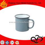 Taza del estilo chino de la taza del esmalte de OEM&ODM con la maneta