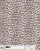 Printing Leopard Polyester Fabric for Garment Dress Bags Shoes