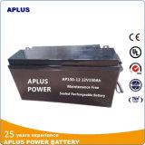 Batterie profonde solaire rechargeable 12V150ah de cycle pour le bloc d'alimentation de côté