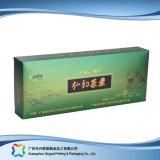 Caixa cosmética de empacotamento embalada plano barato impressa do chá da dobradura (xc-pbn-004)