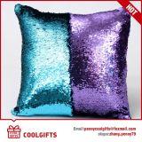Federa del Sequin ricamata vendita calda 2017, cuscino cambiante del sofà di colore