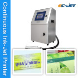 En ligne de l'impression Imprimante jet d'encre de la machine pour l'emballage alimentaire (EC-JET1000)