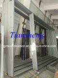 Kundenspezifische Qualitäts-Aluminiumkammer-Tür mit der Doppelverglasung