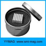Sinterizada NdFeB 5mm ímanes Neo Cube para crianças crianças brincam