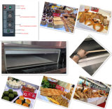 Forno elétrico do cozimento do projeto profissional para a loja do pão/pizza