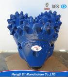Trépanos de sondeo rotatorio del receptor de papel de agua, dígito binario de taladro tricónico del agua