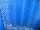 Голубая сетка стеклоткани цвета для здания