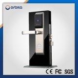 Bloqueo de puerta electrónico del hotel impermeable de la caja fuerte RFID del precio de fábrica con la maneta y el sistema libre E3041
